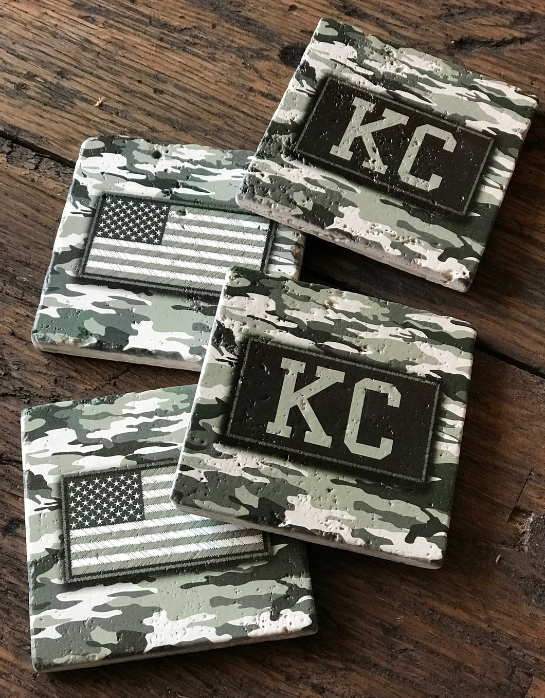 Camo Patch Coasters