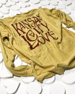 Kansas City Love Long Sleeve T-Shirt