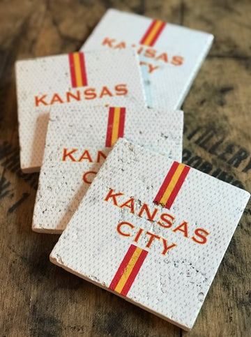 Kansas City Jersey Coasters