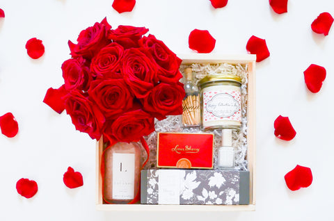 Be My Valentine Gift Box - Luxe {Local Delivery}