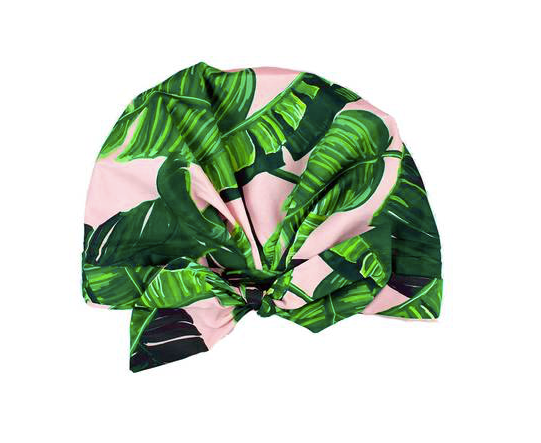 Kitsch Luxe Shower Cap - Palm Leaves