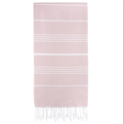 Authentic Turkish Towel - Baby Pink
