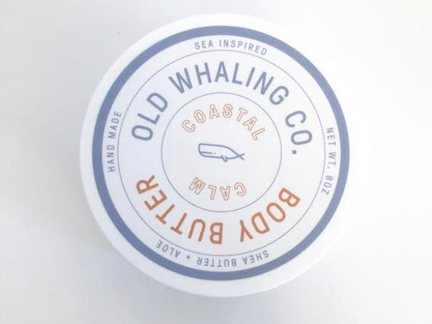 Old Whaling Co. Body Butter - Coastal Calm - 2oz