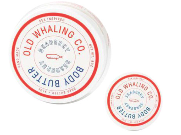 Old Whaling Co. Body Butter - Seaberry - 8oz