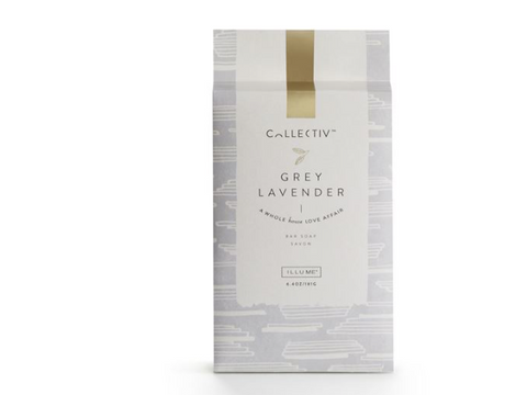 Illume Collectiv Bar Soap - Grey Lavender