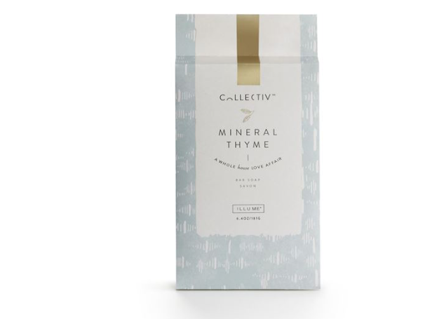 Illume Collectiv Bar Soap - Mineral Thyme