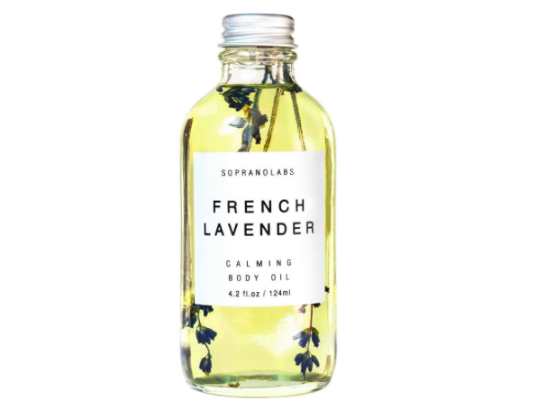 Soprano Labs French Lavender Infused Body Oil