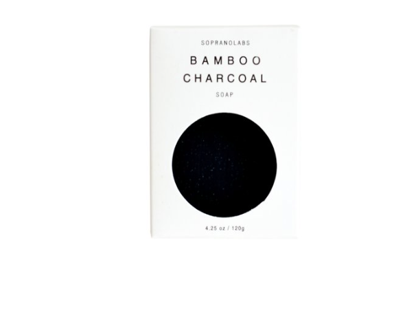 Soprano Labs - Bamboo Charcoal Vegan Soap