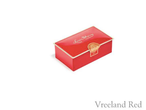 Louis Sherry 2 Piece Chocolate Tin - Vreeland Red