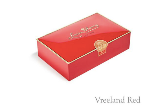 Louis Sherry 12 Piece Chocolate Tin - Vreeland Red