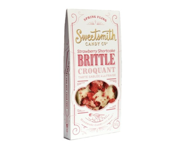 Sweetsmith Candy Co. - Strawberry Shortcake Brittle