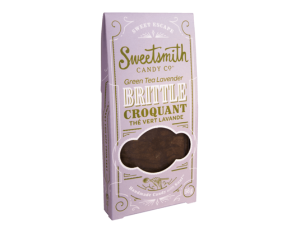 Sweetsmith Candy Co. - Green Tea Lavender Brittle