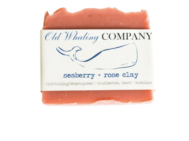 Old Whaling Co. - Seaberry + Rose Clay Bar Soap