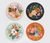 Rifle Paper Co. Coasters (set of 8) - Lively Floral