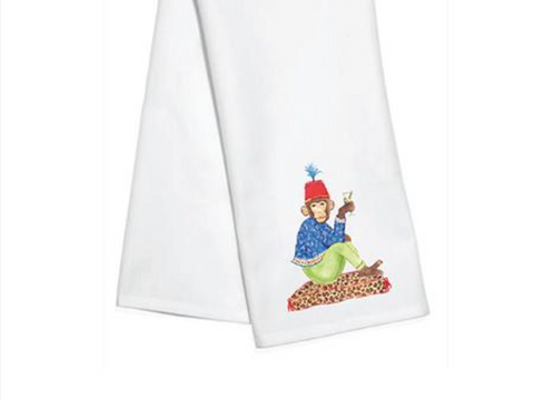 Marcel the Chimp Kitchen Towel by Mari