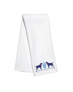 Tassel Dogs Kitchen Towel