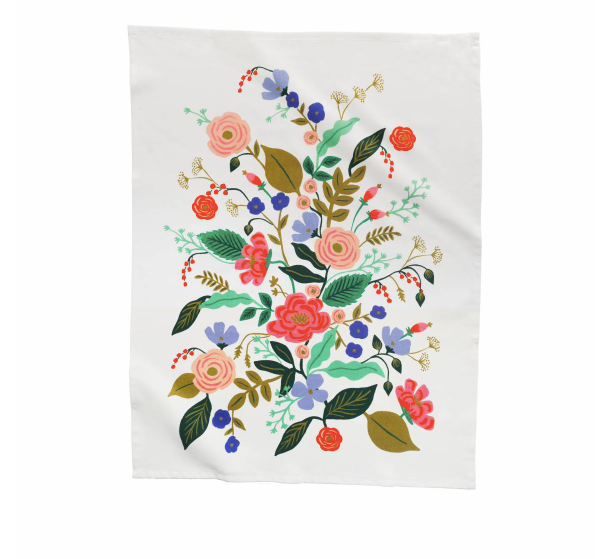 Rifle Paper Co. Tea Towel - Floral Vines