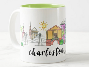 Charleston Skyline Mug by Island Haus Paperie