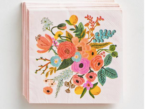 Rifle Paper Co. Cocktail Napkins (set of 20) - Garden Party
