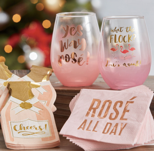 Rose' All Day Cocktail Napkins (set of 20)