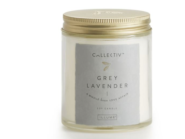 Illume Collectiv Julia Jar Candle - Grey Lavender