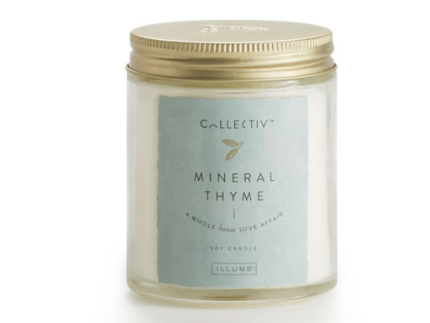 Illume Collectiv Julia Jar Candle - Mineral Thyme
