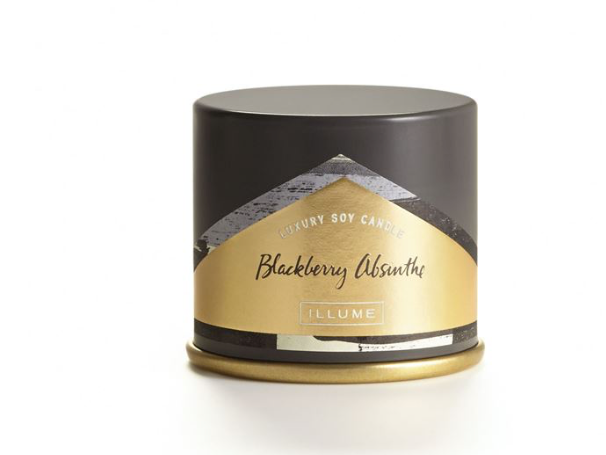 Illume Blackberry Absinthe Demi Candle Tin