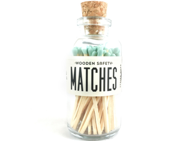 Vintage Apothecary Matches Mini - Mint
