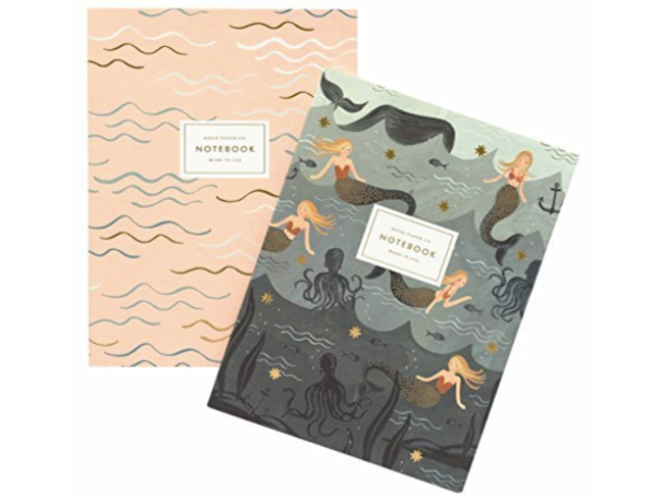 Rifle Paper Co. Mermaid Notebook Set (Set of 2)