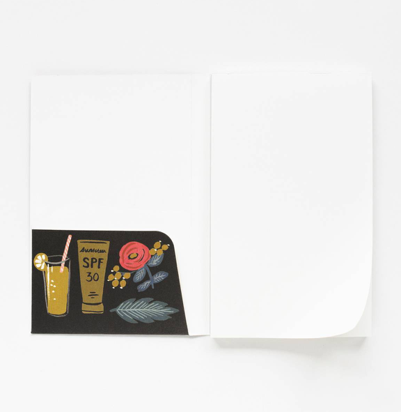 Rifle Paper Co. Bon Voyage Travel Notepad - Pocket Sized