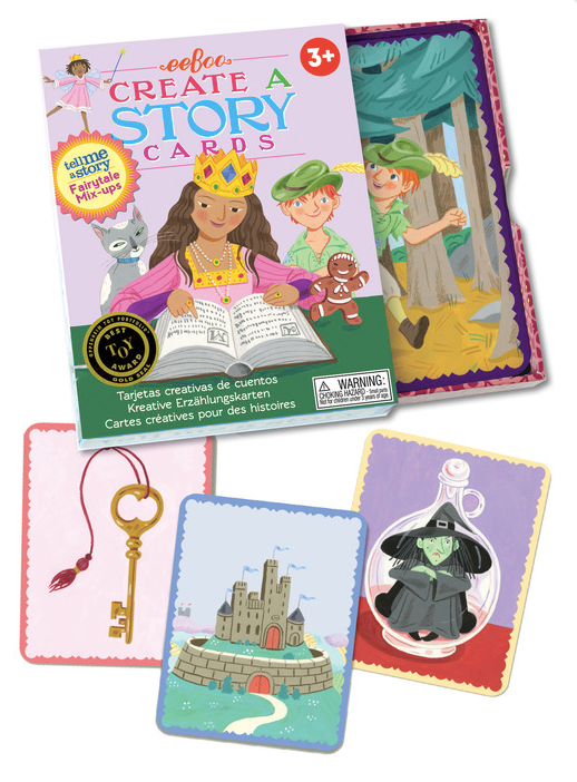 eeboo - Fairytale Mix-Up Create a Story (Tell Me A Story) Cards
