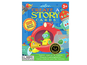 eeboo - Robot's Mission Create a Story (Tell Me A Story) Cards