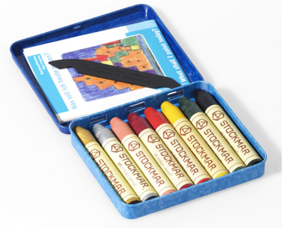 Stockmar Beeswax Crayons - 8 colours supplementary assortment 2