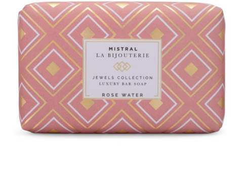 Mistral - Rose Water Jewels Luxury Bar Soap