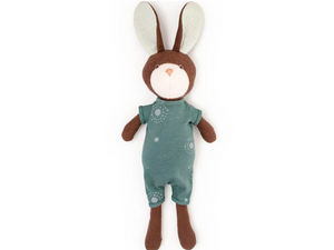 Hazel Village - Lucas Rabbit in Adventure Romper