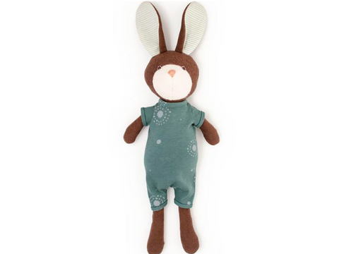 Hazel Village - Lucas Rabbit in Adventure Romper (+$20)