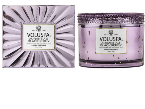 Voluspa Corta Maison Candle - Aurantia & Blackberry
