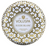 Voluspa Maison Metallo 2 Wick Tin Candle - Suede Blanc