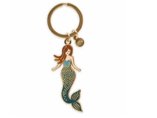Rifle Paper Co. Enamel Keychain - Mermaid