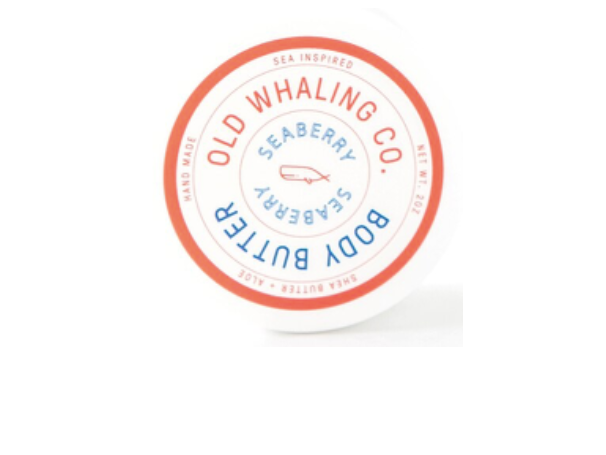 Old Whaling Co. Body Butter - Seaberry - 2oz Travel Size