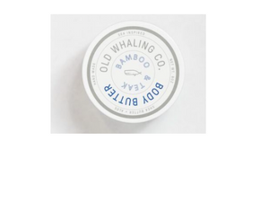 Old Whaling Co. Body Butter - Bamboo and Teak - 2oz Travel Size