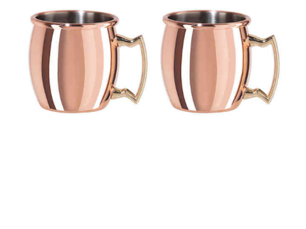 Mini Moscow Mule Shot Glasses - Set of 2
