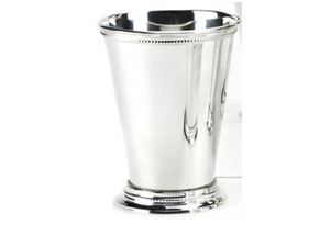 1 Beaded Sterling Silver Plated Mint Julep Cup or Vase(+$12)
