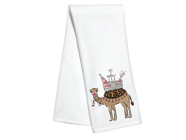 Hump Day Kitchen Towel by Hayden Gresak