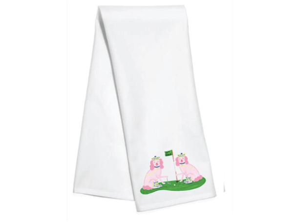 Ellen & Jay Kitchen Towel by Willa Heart