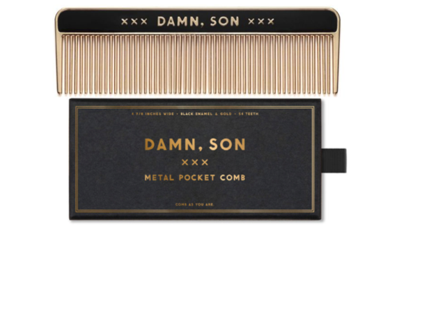 Damn, Son Metal Comb - 4.8in