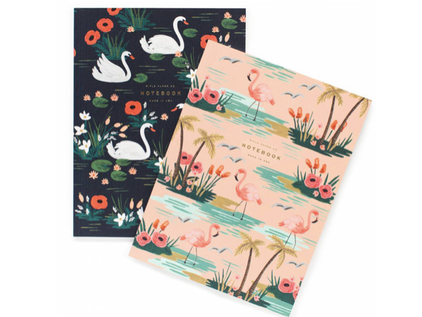 Rifle Paper Co. Birds of a Feather Notebook Set (Set of 2)