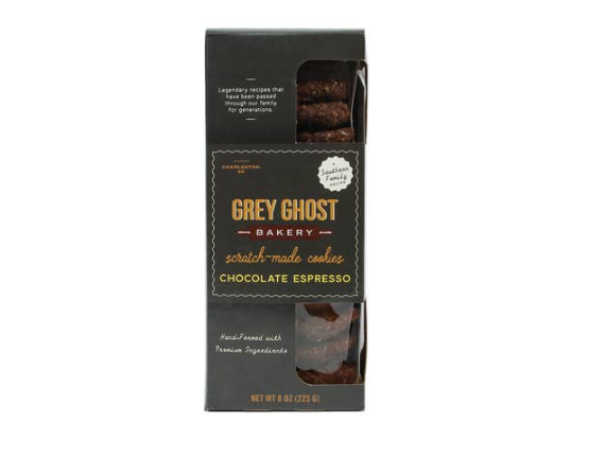 Grey Ghost Bakery Chocolate Espresso Cookies - 8oz