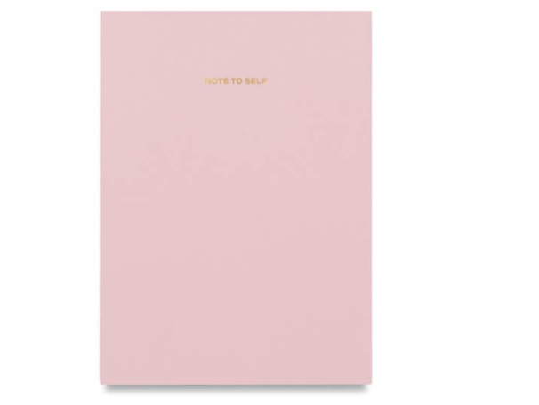 Wit & Delight Note to Self Journal - Pink