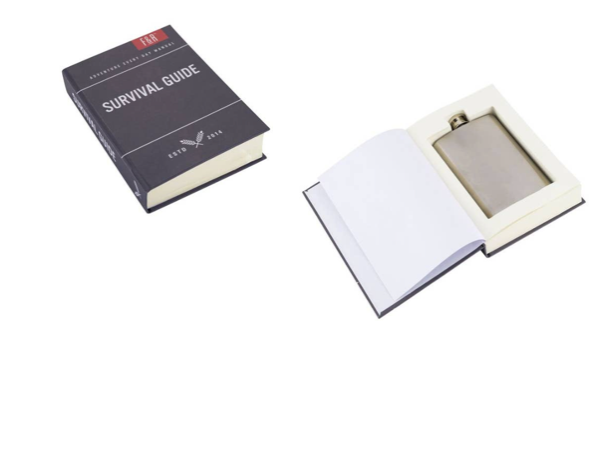 Book with Hidden Flask